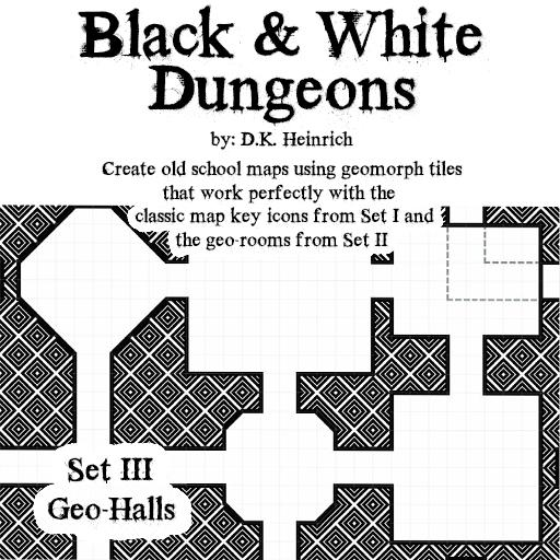 Black & White Dungeons - Set III