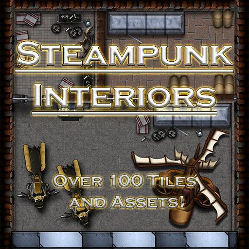 Steampunk Industrial Interiors