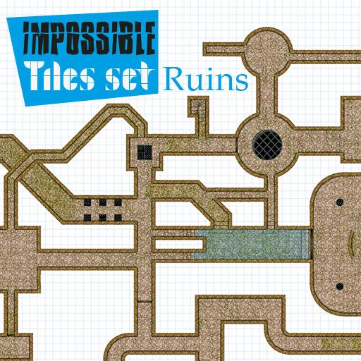 Impossible Tiles Kit: Ruins