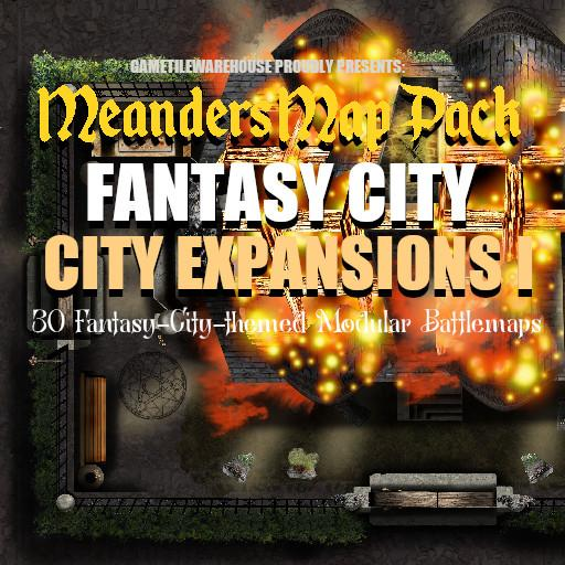 Meanders Map Pack CITY EXPANSIONS I