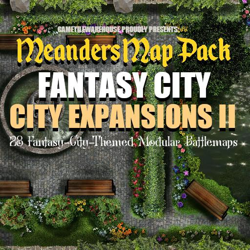 Meanders Map Pack CITY EXPANSIONS II