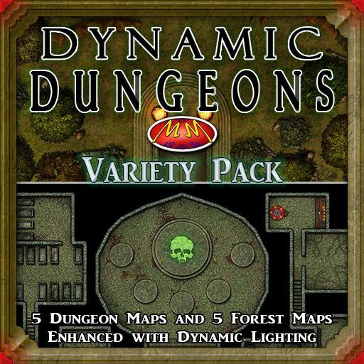 Dynamic Dungeons V7 Variety Pack