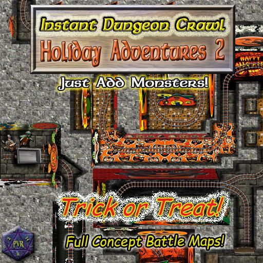 Instant Dungeon Crawl: Holiday Adventures 2