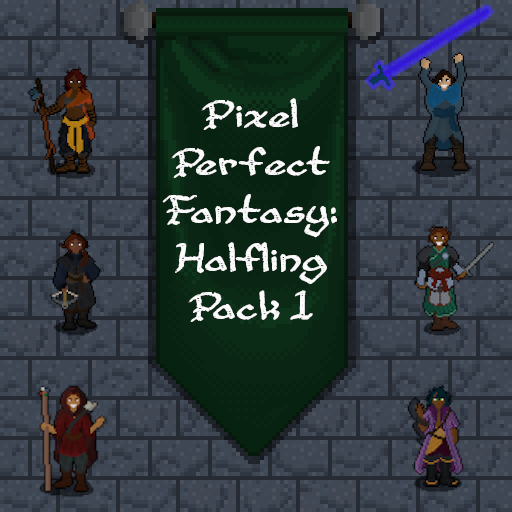 Pixel Perfect Fantasy: Halfling Pack 2