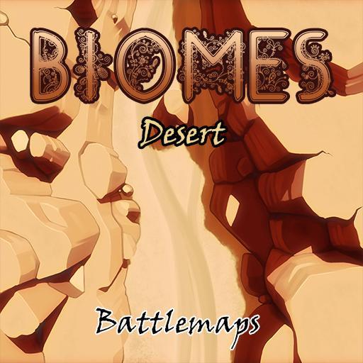 Biomes Battlemaps - Desert