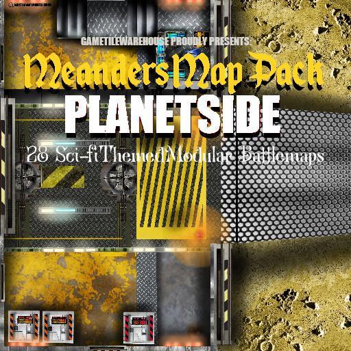 Meanders Map Pack PLANETSIDE
