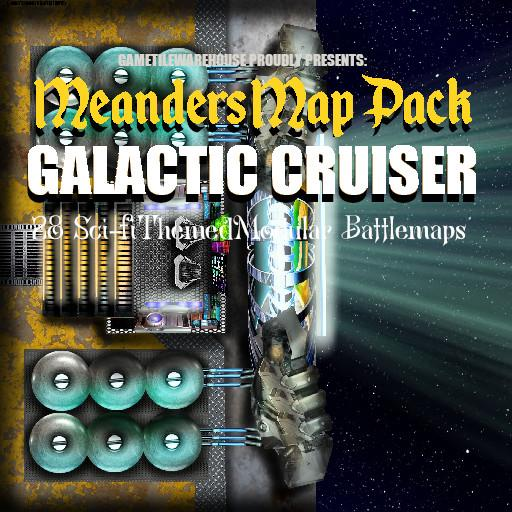 Meanders Map Pack GALACTIC CRUISER