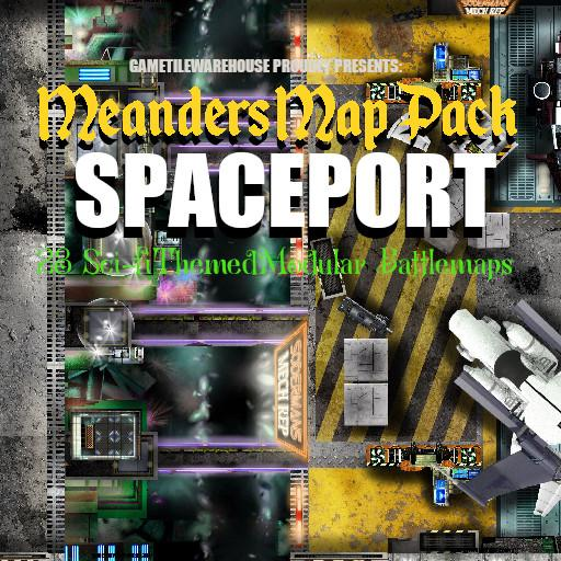 Meanders Map Pack SPACEPORT