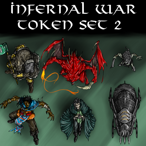 Infernal War Token Set 2