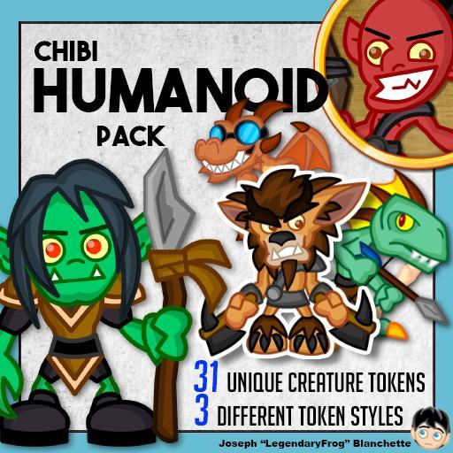 Chibi Humanoid Pack