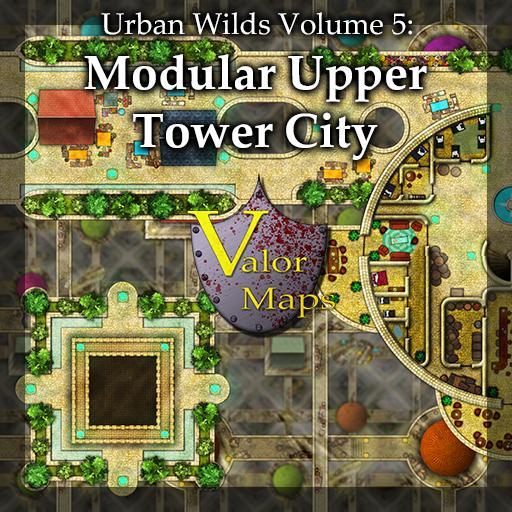 Urban Wilds V5: Modular Upper Tower City