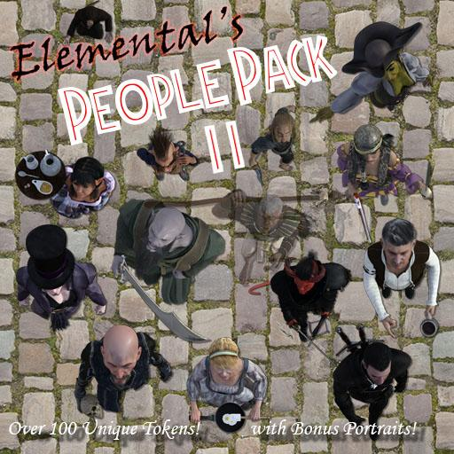 Elemental's People Pack 2