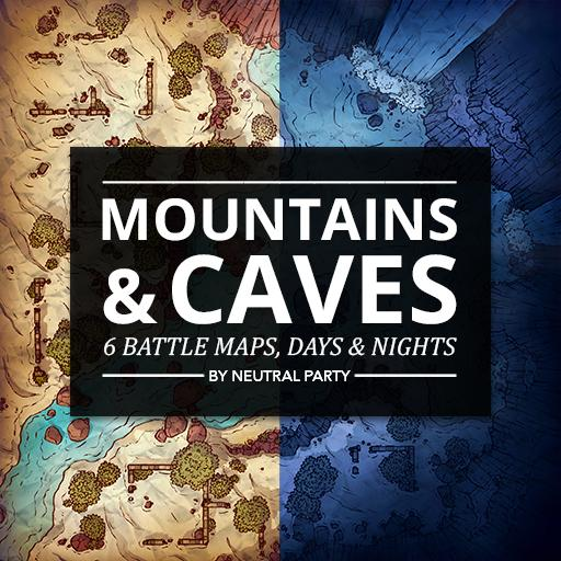 Mountains & Caves Map Pack 1