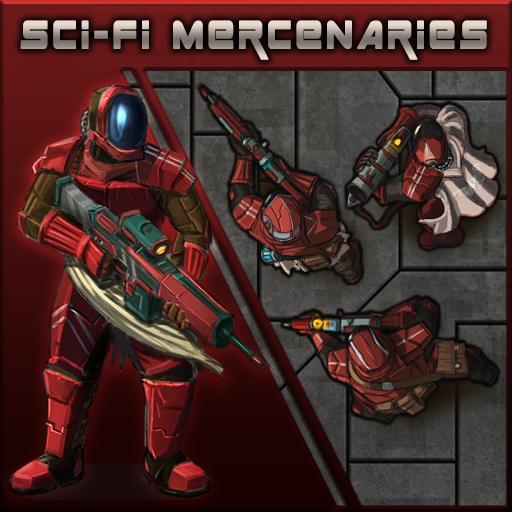 Sci-Fi Mercenaries