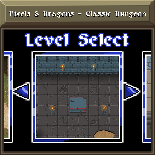 Pixels and Dragons - Classic Dungeon