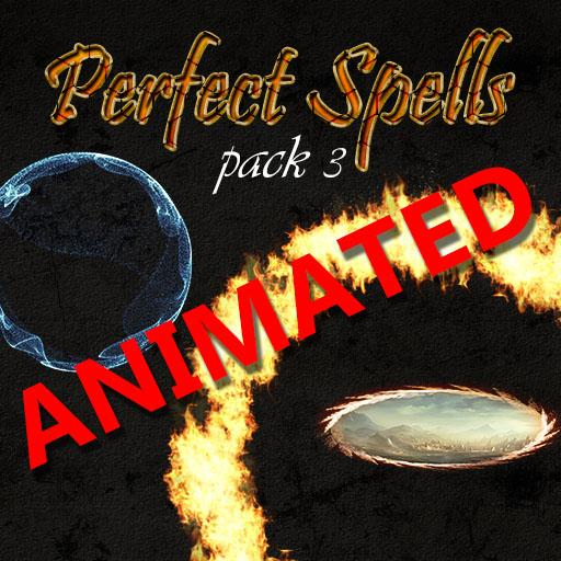 Perfect Spells pack 3 Animated