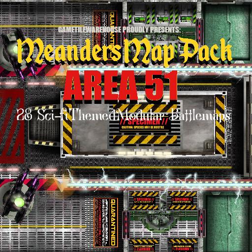 Meanders Map Pack AREA 51