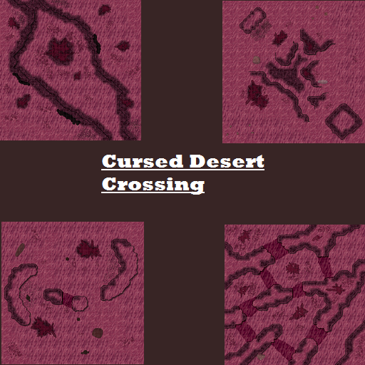 Cursed Desert Crossing Map Pack