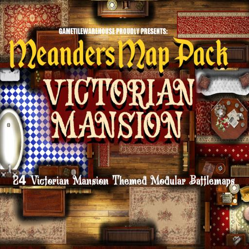 Meanders Map Pack VICTORIAN MANSION