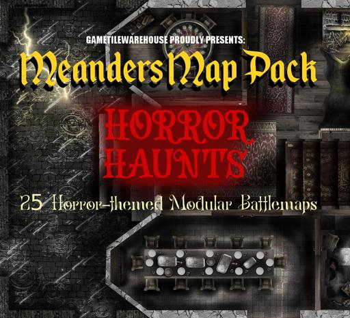 Meanders Map Pack HORROR HAUNTS