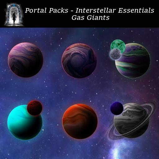Portal Packs - Interstellar Essentials - Gas Giants