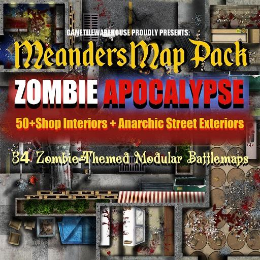 Meanders Map Pack ZOMBIE APOCALYPSE
