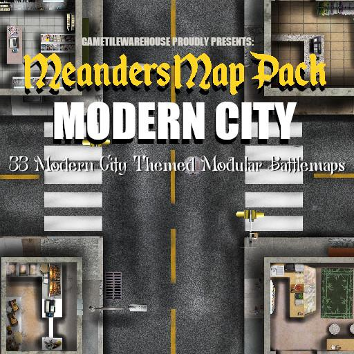 Meanders Map Pack MODERN CITY