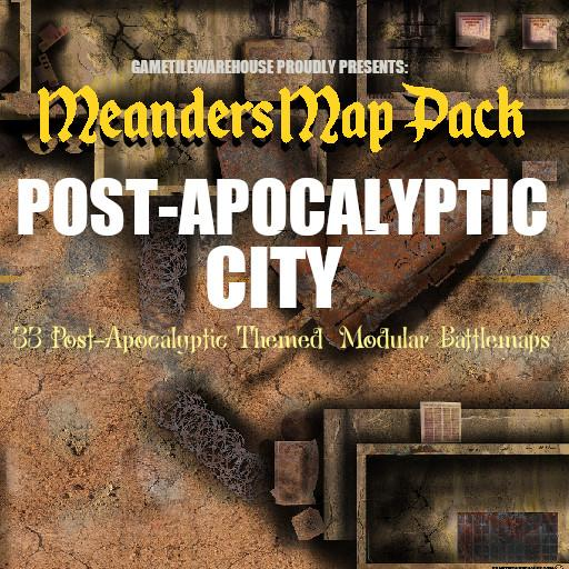 Meanders Map Pack POST APOCALYPTIC CITY