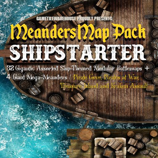 Meanders Map Pack SHIPSTARTER