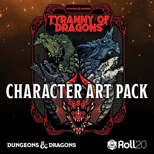 Tyranny of Dragons Character Art Pack