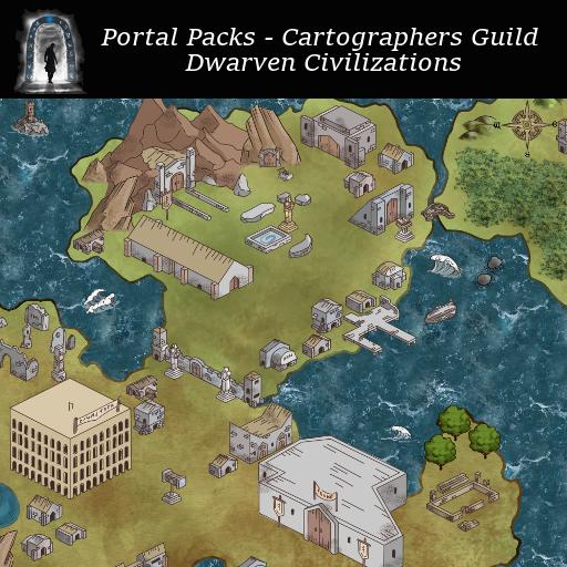 Portal Packs - Cartographers Guild - Dwarven Civilizations