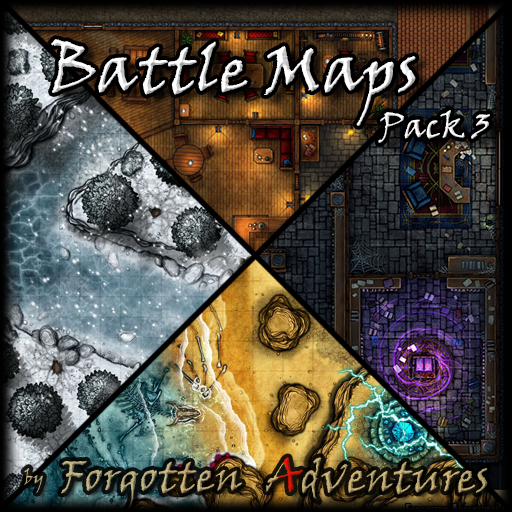 Battle Maps Pack 3