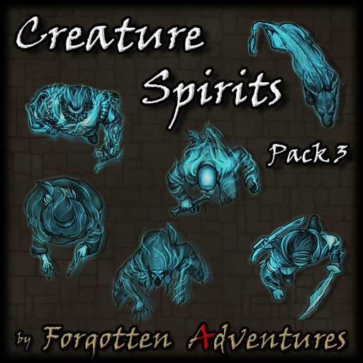 Creature Spirits - Pack 3