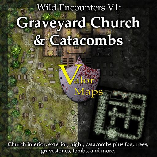 Wild Encounters V1: Graveyard Church