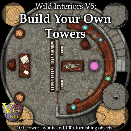 Wild Interiors V5: Build Your Own Towers