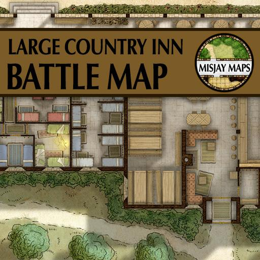 Large Country Inn and Tavern