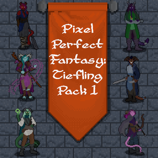 Pixel Perfect Fantasy: Tiefling Pack 1