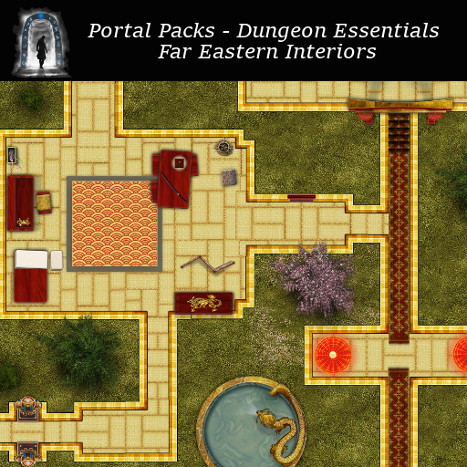 Portal Packs - Dungeon Essentials - Far Eastern Interiors
