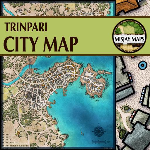 City Map _ Trinpari