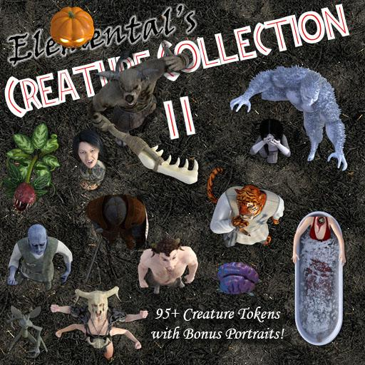 Elemental's Creature Collection 2