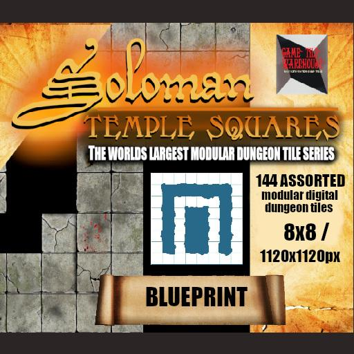 Soloman Temple Squares - BLUEPRINT