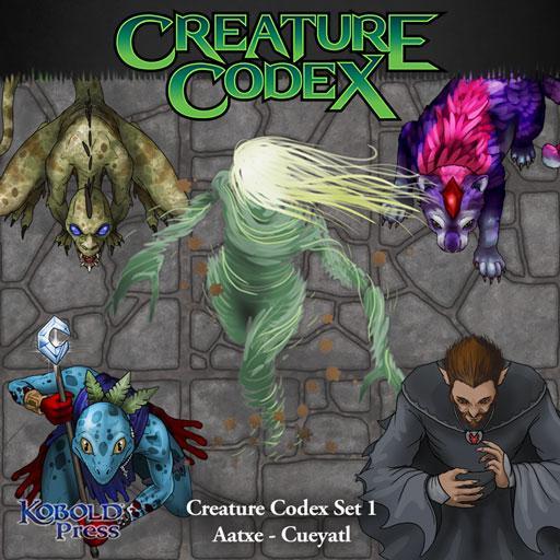 Creature Codex 1: Aatxe - Cueyatl