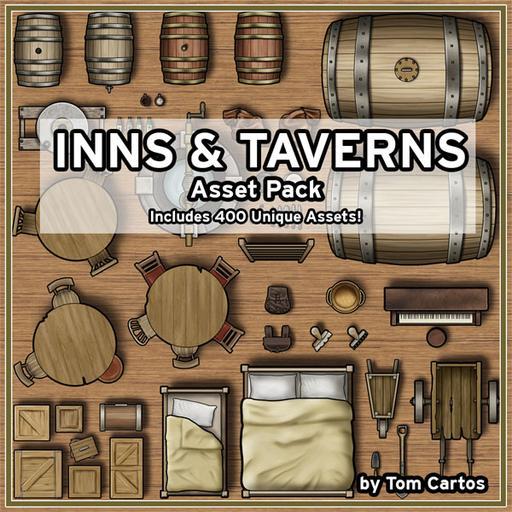 Inns & Taverns Asset Pack
