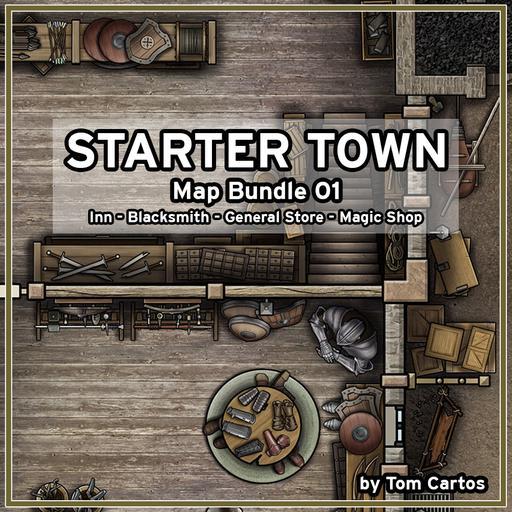 Starter Town Map Bundle 01