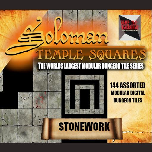 Soloman Temple Squares - STONEWORK