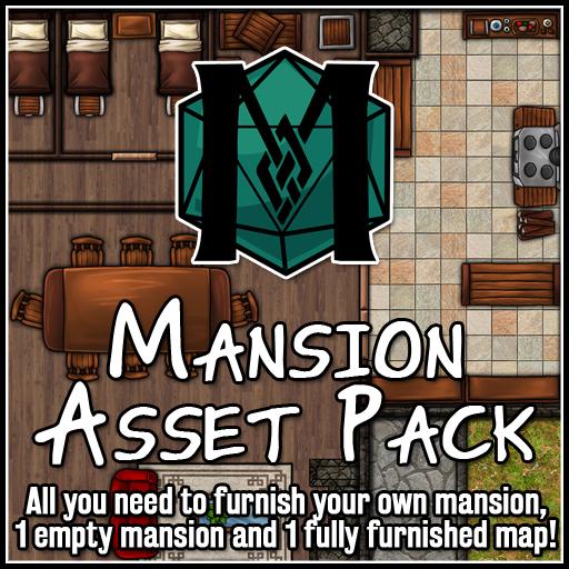 Mansion Asset Pack