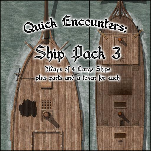 Quick Encounters: Ship Pack 3