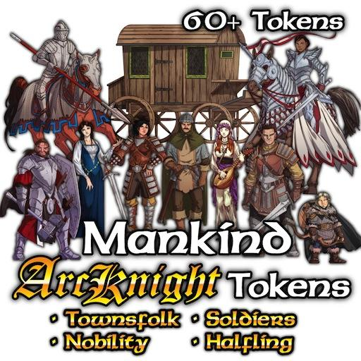 Arcknight Tokens - Mankind