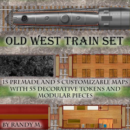 Western Train Battle Pack