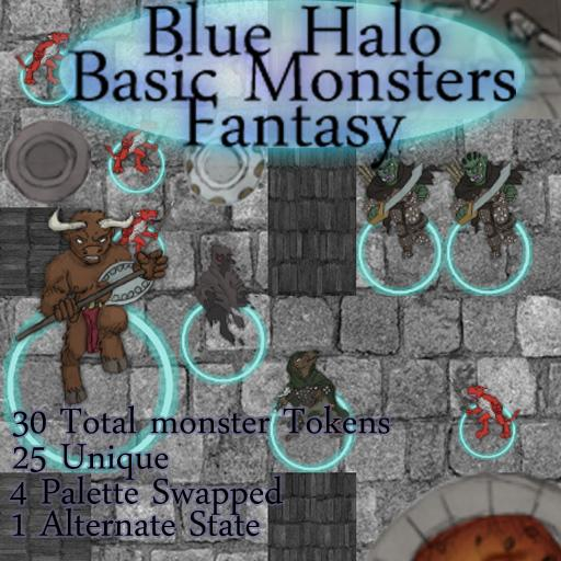 Blue Halo Basic Monster's Fantasy
